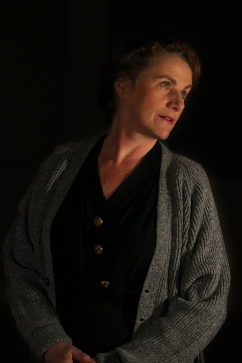 Marilyn Norry as Amanda Wingfield, publicity photo for The Glass Menagerie, November 2014