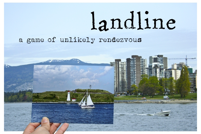 Postcard for Landline (a theatrical experience created by Dustin Harvey and Adrienne Wong)
